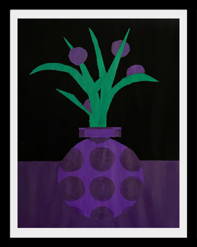 Jon Key, 'Violet Still Life No. 1'