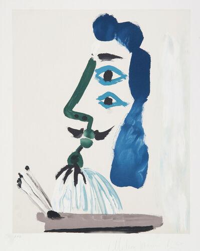Pablo Picasso, 'Le Peintre et sa Palette', 1973-originally 1967