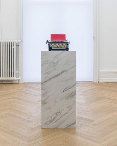 Jorge Méndez Blake, 'Pause II (Red)', 2019