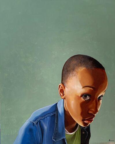 Adrienne Brown-David, 'Bijou in Denim', 2020