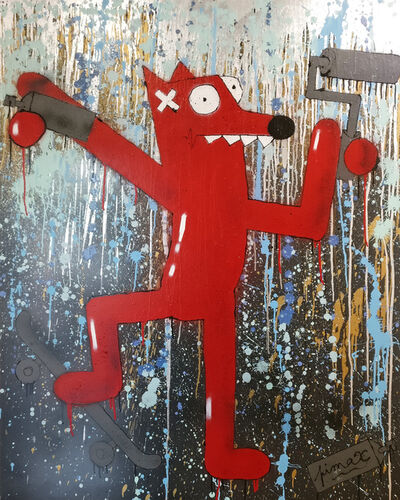 Pimax, 'Dancing in the Rain (Nourf)', 2018