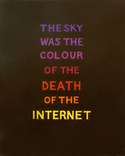 Suzanne Treister, 'SURVIVOR (F)/The Sky Was the Colour of the Death of the Internet', 2019