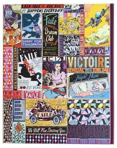 FAILE, 'FAILE Works on Wood Artist Book Wooden Cover', 2014