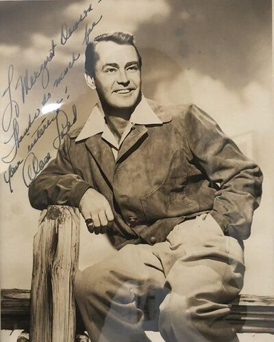 Unknown, 'Photograph of the film star Alan Ladd', n.d