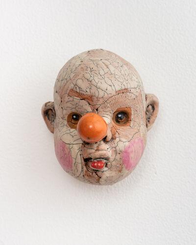 Tom Bartel, 'Medium Doll Head, Orange Nose', 2018