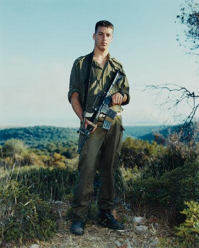 Rineke Dijkstra, 'Amit, Golani Brigade, Elyacim, Israel, May 26, 1999', 2001