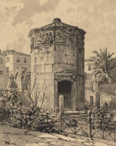 Themistocles von Eckenbrecher, 'Tower of Winds', 1890