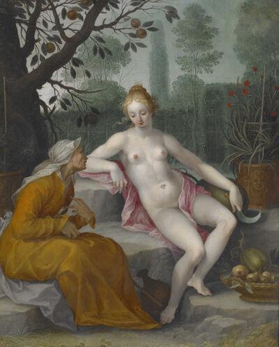 Abraham Bloemaert, 'Vertumnus and Pomona ', ca. 1605
