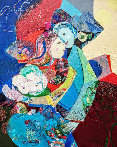 Brigitte Szpiro, 'La valse des fleurs', 2019
