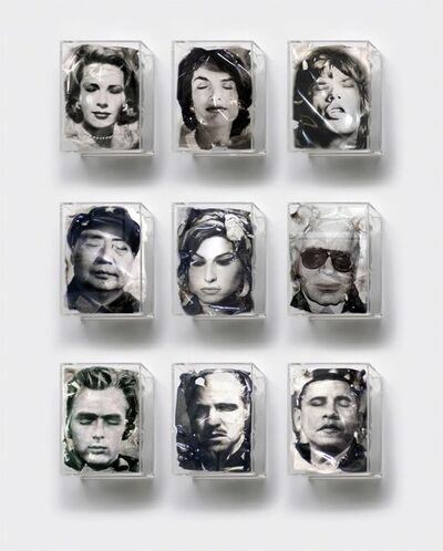 Yves Hayat, 'Les Icônes sont fatiguées ', 2018