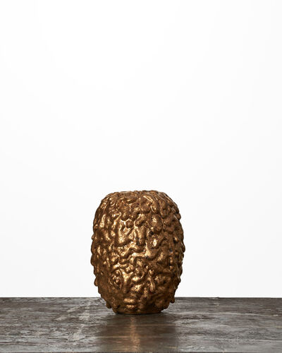 Morten Løbner Espersen, 'Gold-Covered Vase #1779', 2015