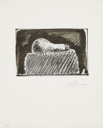 Jasper Johns, 'Light Bulb', 1976