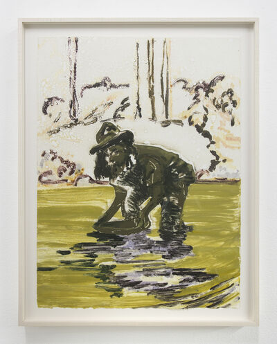 Claire Tabouret, 'The Gold Miners 12', 2017