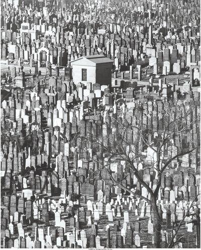 Andreas Feininger, 'Cemetary in Queens, N.Y.', 1952