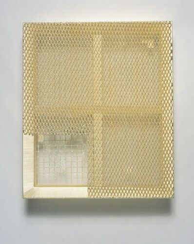 Lin Tianmiao, 'Yellow Mehses', 2013