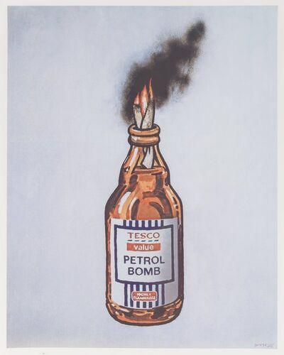 Banksy X Bristol Riots, 'Petrol Bomb, poster', 2011