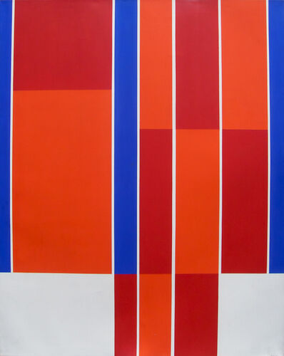 Ilya Bolotowsky, 'Red, Blue, White Rectangles', 1973