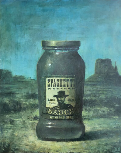 Ben Steele, 'Spaghetti Western: Green', 2014