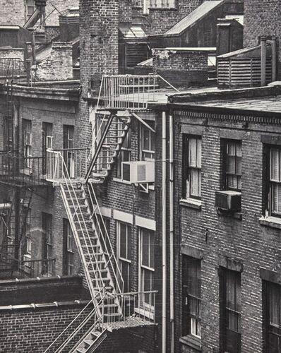 Jean Mohr, 'Les excaliers exterieures (56 rue)'