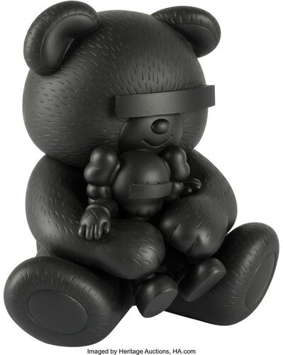 KAWS, 'Companion, Undercover Bear (Black)'