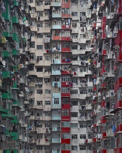 Michael Wolf (b. 1954), 'Architecture of density #120', 2006