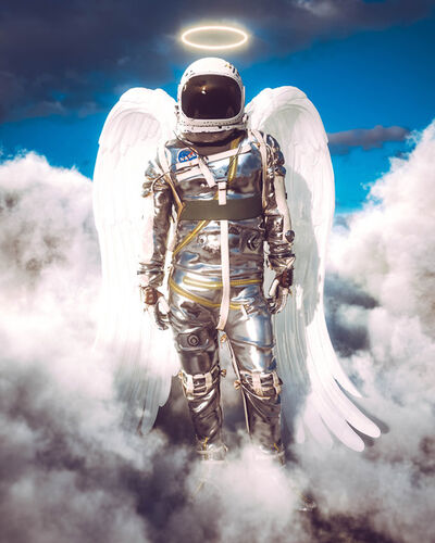 Cameron Burns, 'Angel Astro', 2021