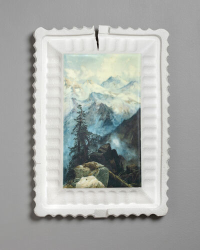 Evan Hauser, 'Preservation & Use (Summit of the Sierras, Thomas Moran, 1872-1875)', 2019
