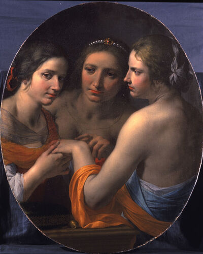 Giovanni Martinelli, 'The Three Graces', 1604-1659