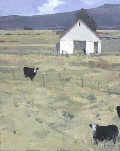 Dinah Worman, 'Three and a Half Cows', 2019