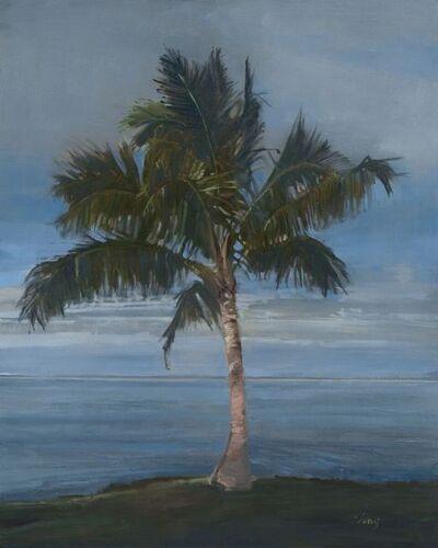 Michelle Jung, 'Royal Palm ~ Wailea Beach, Kihei, HI', 2018