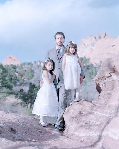 David Magnusson, 'Laila Sa, 7 years, Antonio Sa & Maya Sa, 5 years. Colorado Springs, Colorado'
