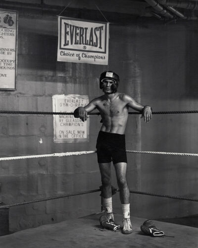 Kurt Markus, 'Abbi Vega, Gleason's Gym, New York', 1990