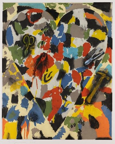 Jim Dine, 'Snips, Pliers and Hammer', 2011