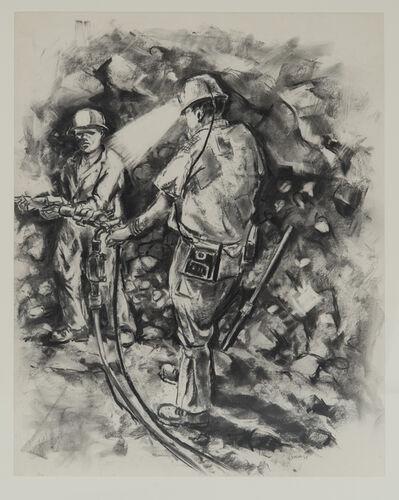Durant Sihlali, 'Miners I', 1975