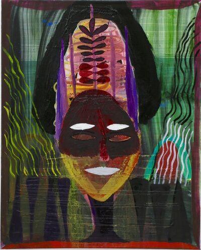 Matthias Dornfeld, 'Untitled (maskenartiges Gesicht und andere komische Sachen)', 2015