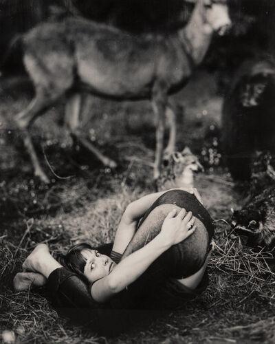 Michael Garlington, 'Untitled (Girl Folded Over)'