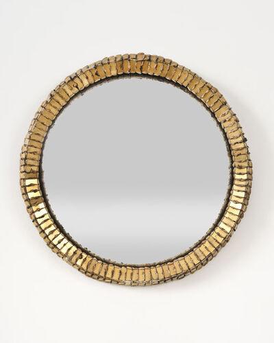 Line Vautrin, 'Circular mirror', ca. 1960