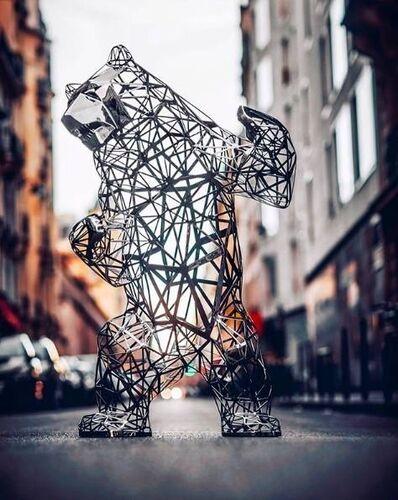 Richard Orlinski, 'Standing Bear / Ours Debout ', 2020