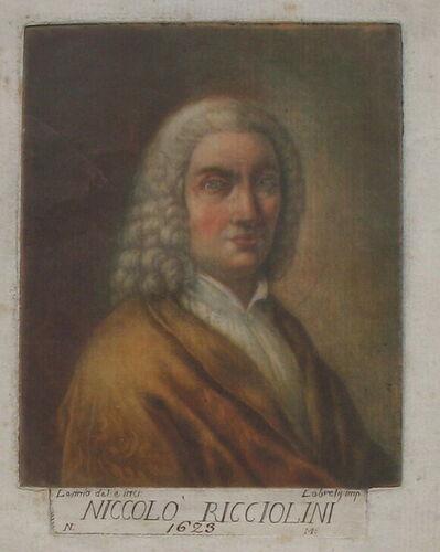 Carlo Lasinio, 'Portrait of Niccolò Ricciolini', ca. 1789