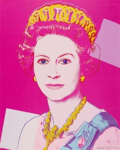 Andy Warhol, 'Queen Elisabeth', 1985