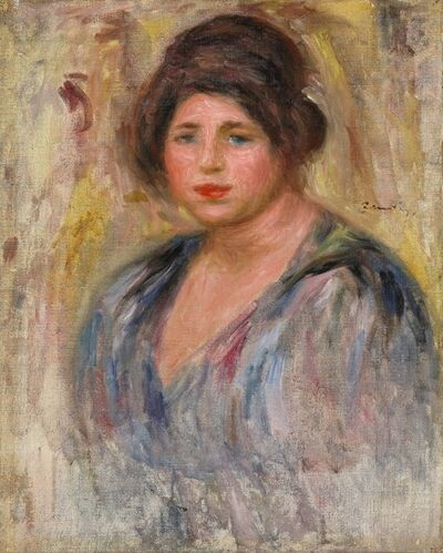 Pierre-Auguste Renoir, 'Portrait de Femme (Gabrielle Renard)', 1912