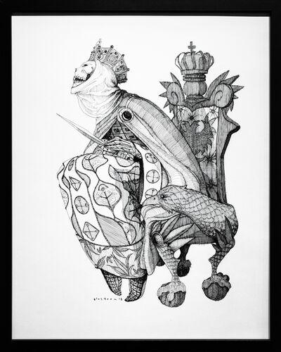 Kate Glasheen, 'Dead Queen 1 [10th Century Russian Regent]', 2018
