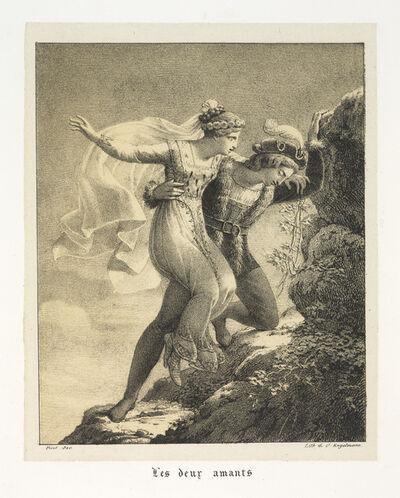 François-Edouard Picot, 'Les deux amants', 1820