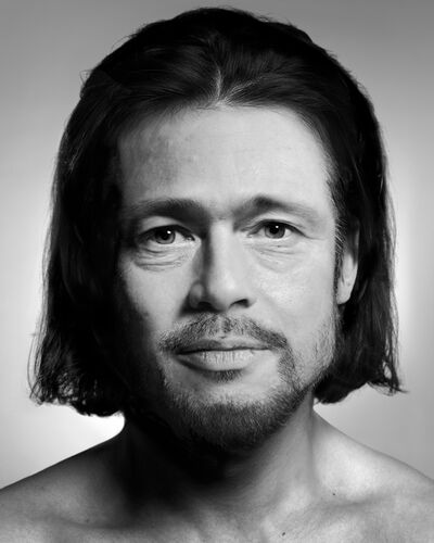 Zhang Wei (b. 1977), 'Brad Pitt', 2013