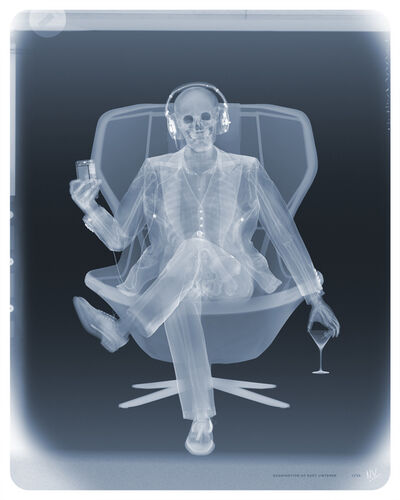 Nick Veasey, 'Examination of Easy listener', 2021