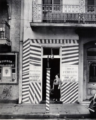 Walker Evans, 'Barber Shop, New Orleans', 1936-printed 1971