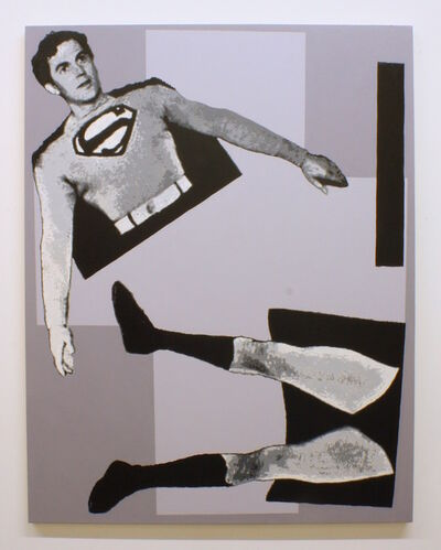 Robert Levine, 'After Malevich (w/ Superman in 3 parts)', 2013