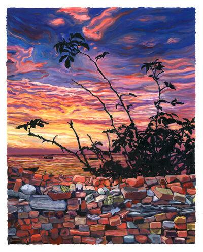 Julia Whitney Barnes, 'Bricks and Stones May Break (Denmark/Wall/Petite)', 2015