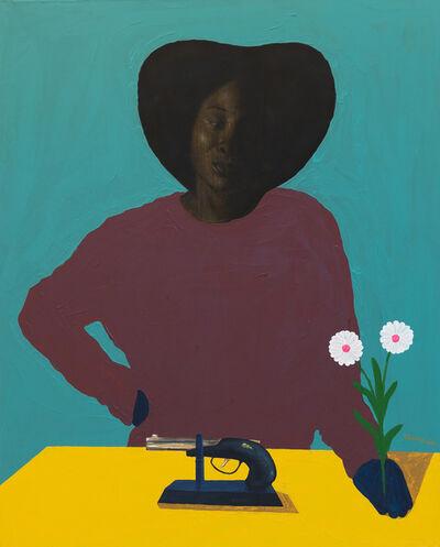 Barry Yusufu, 'Lady for gun', 2021
