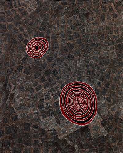 Vincent Fantauzzo, 'Wentja Napaltjari's Country by Wentja Napaltjarri (panel 3 of triptych)', 2016